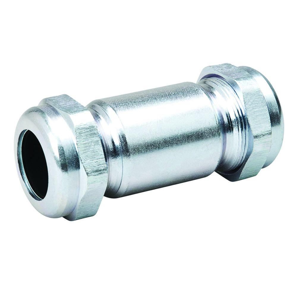 mueller global 112 in galvanized steel compression coupling
