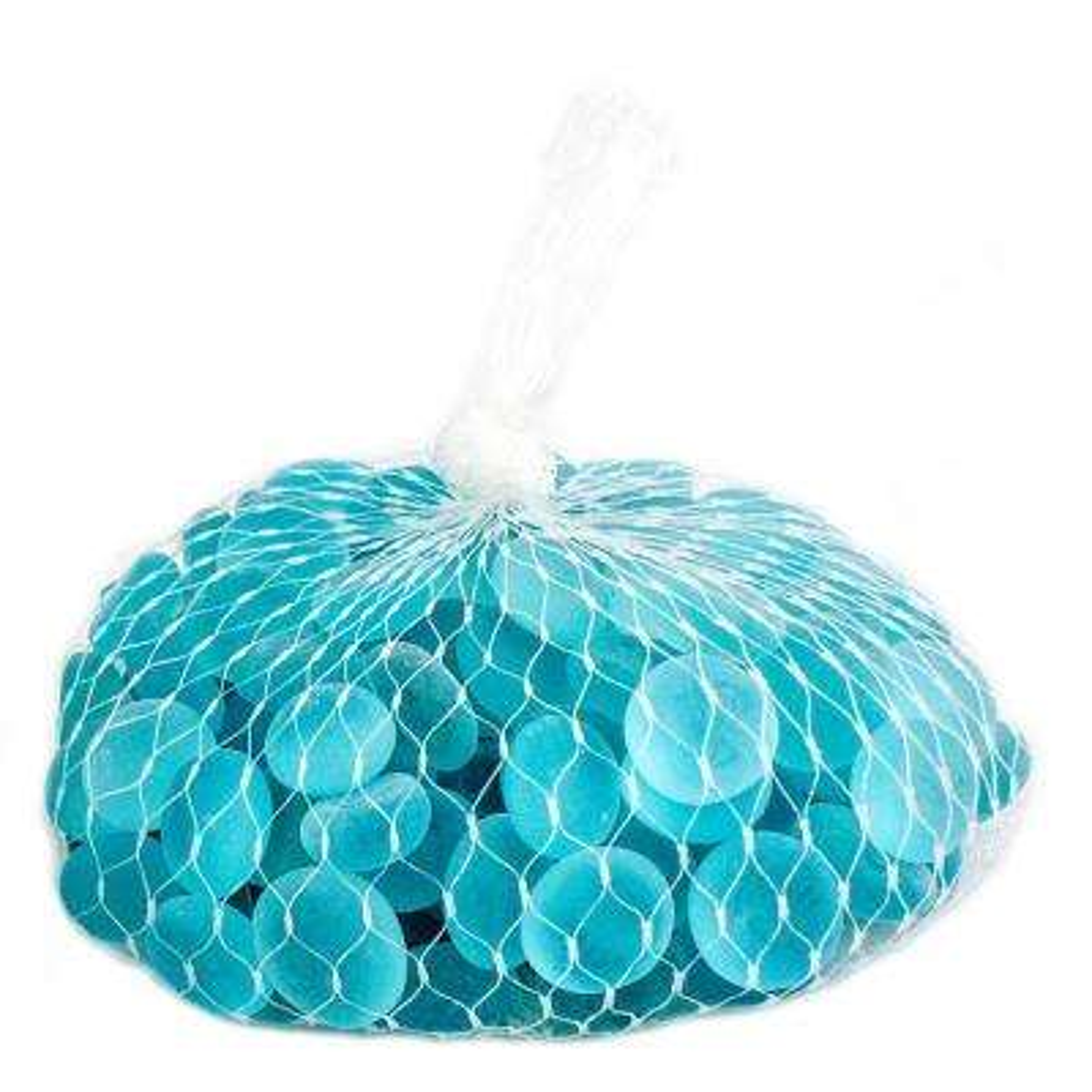 Shop Succulents Soft Glass Pebbles, Glacier Blue
