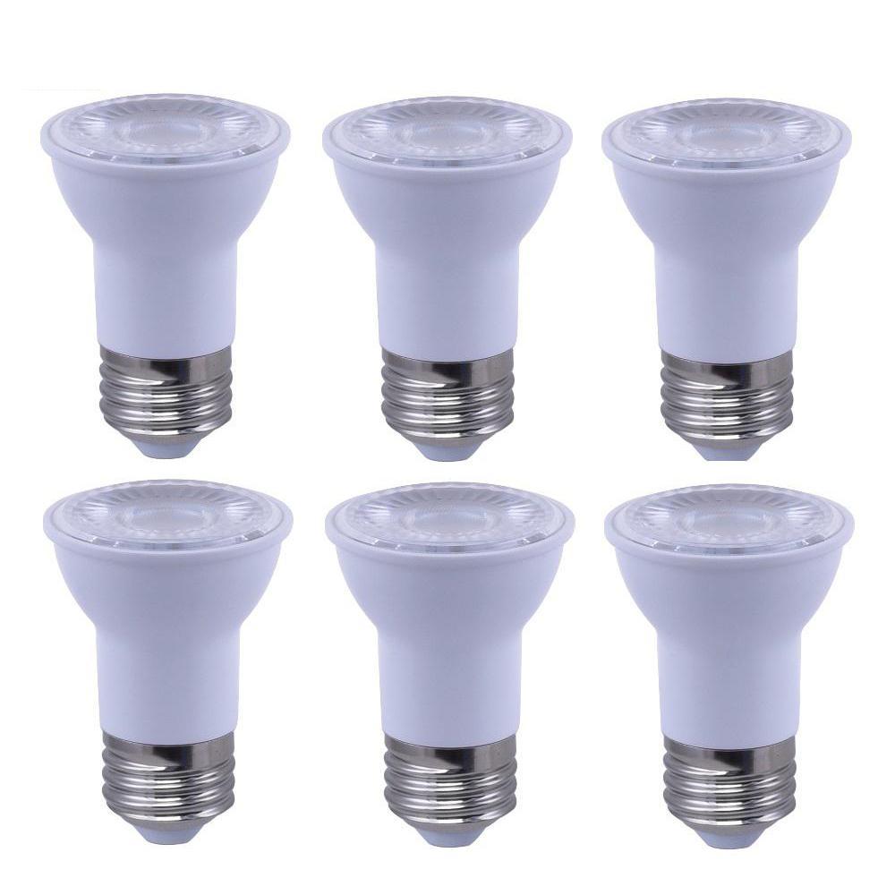 50-Watt Equivalent PAR16 Reflector Dimmable LED Light Bulb Soft White (6-Pack)