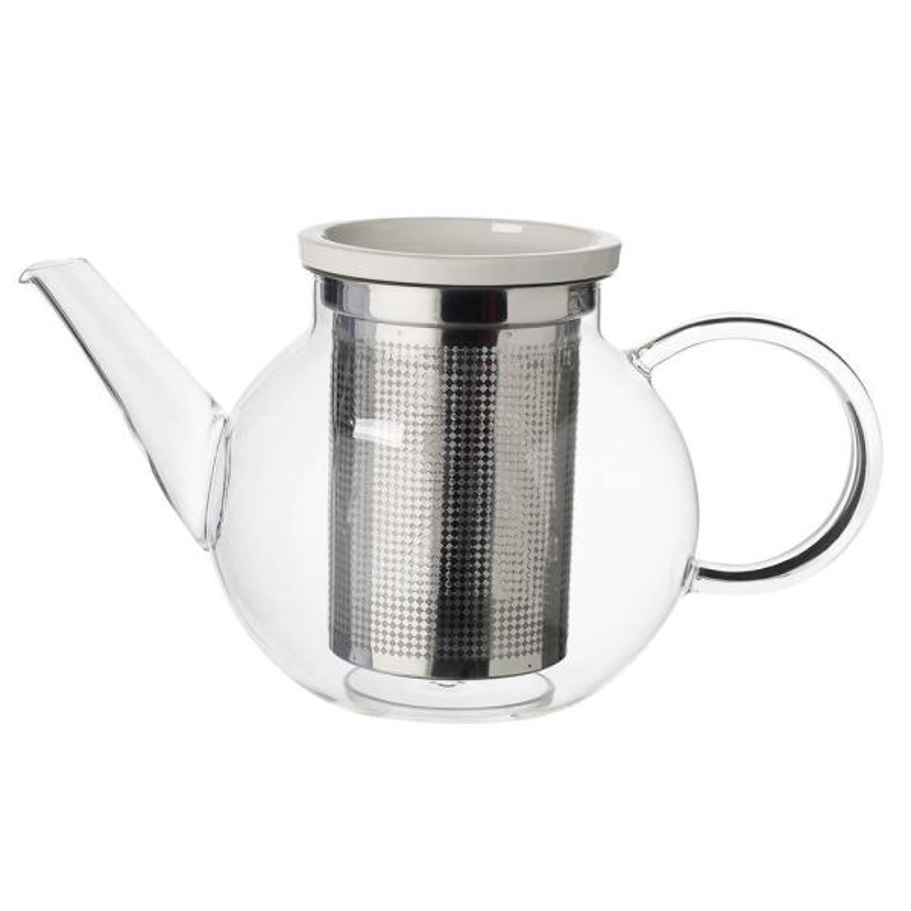 Artesano Hot Beverages 4-Cup Medium Teapot with Strainer
