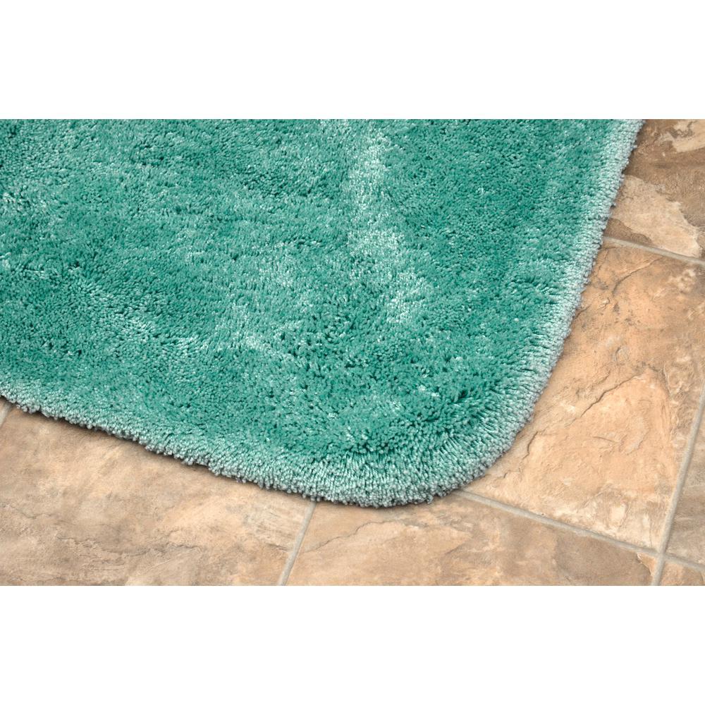 Garland Rug Finest Luxury Sea Foam 2 Piece Washable Bathroom Rug Set Ba130w2p04i6 The Home Depot