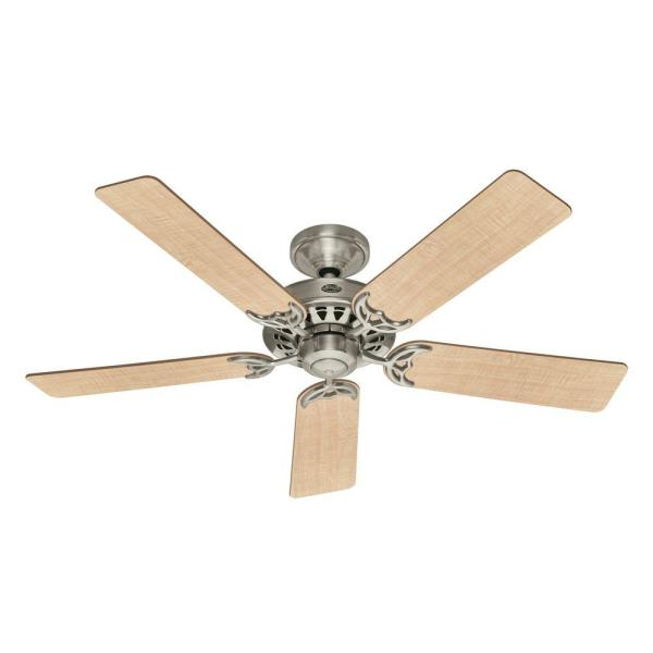 Architect 52 in. Brushed Nickel Ceiling Fan