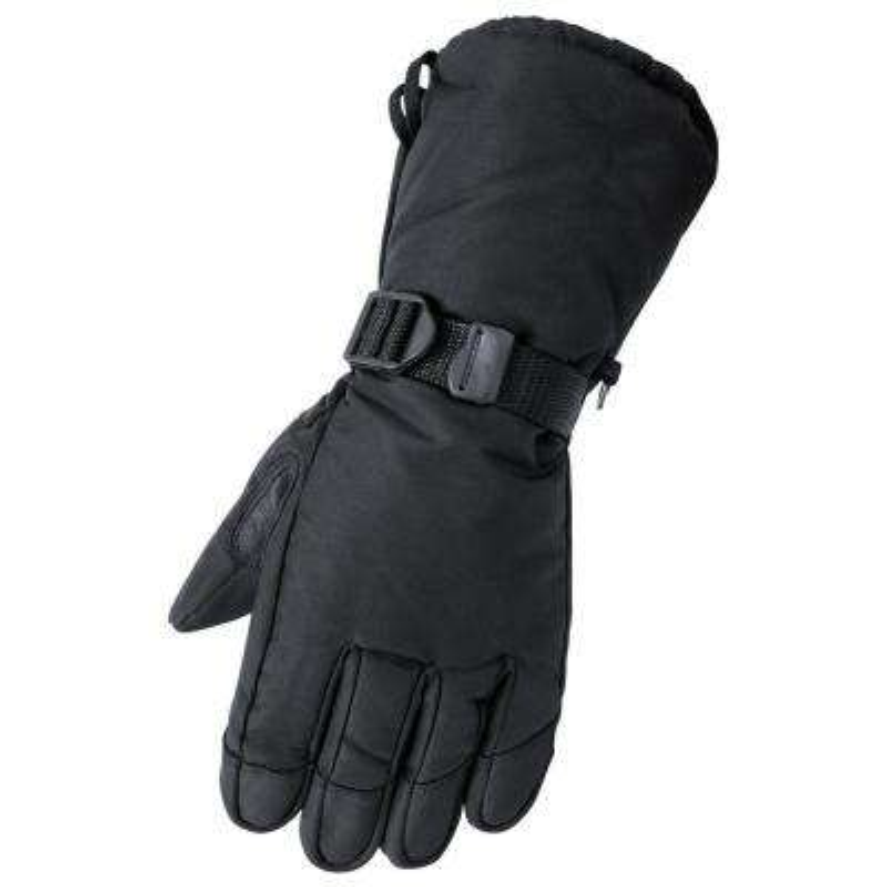 Deerskin Gauntlet 2X Large Black Glove