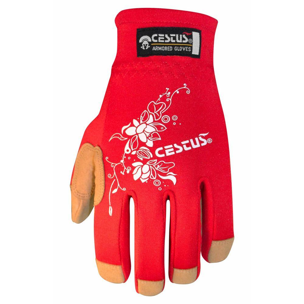 Small Red GenU EZ-Fit Gloves