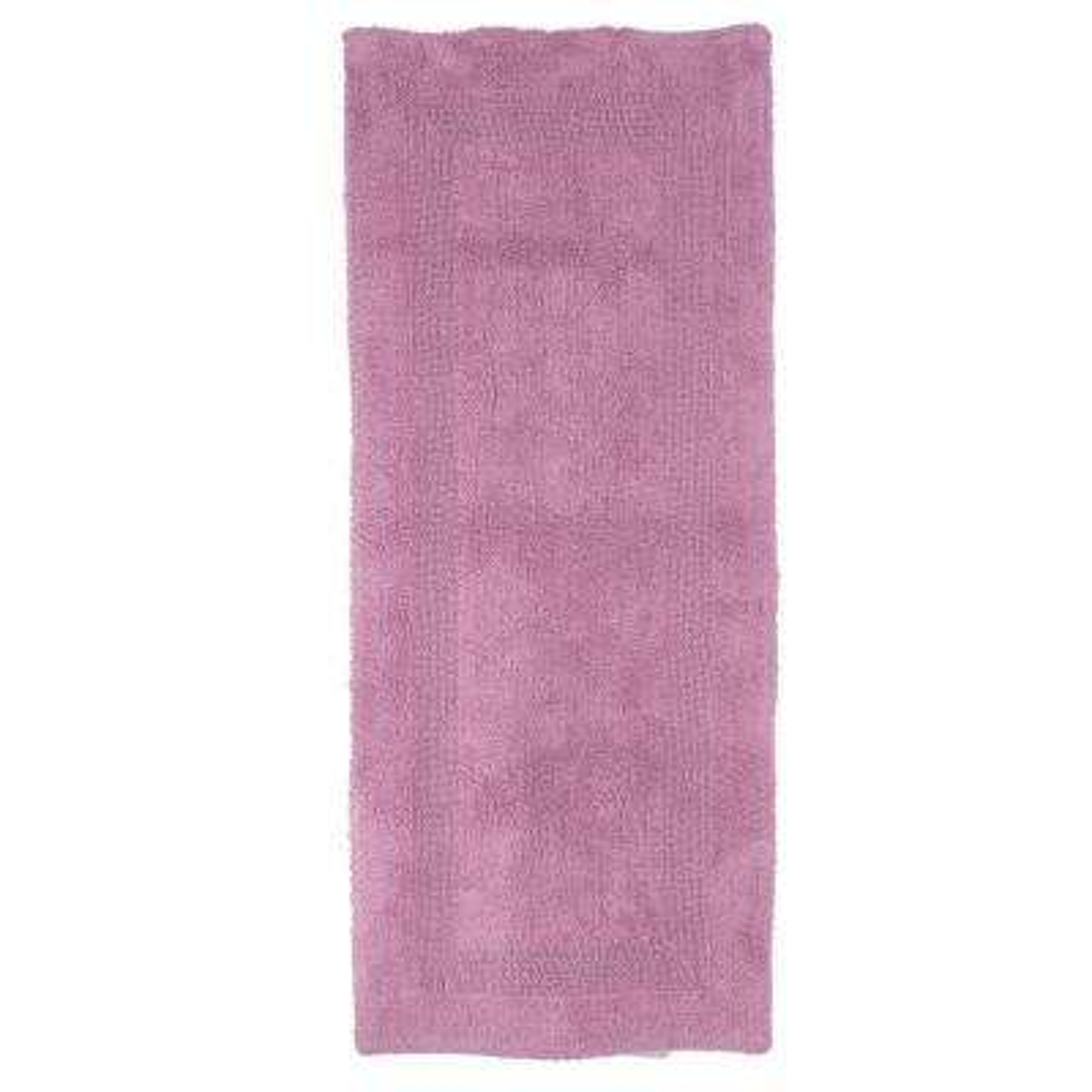 Rose 2 ft. x 5 ft. Cotton Reversible Extra Long Bath Rug Runner