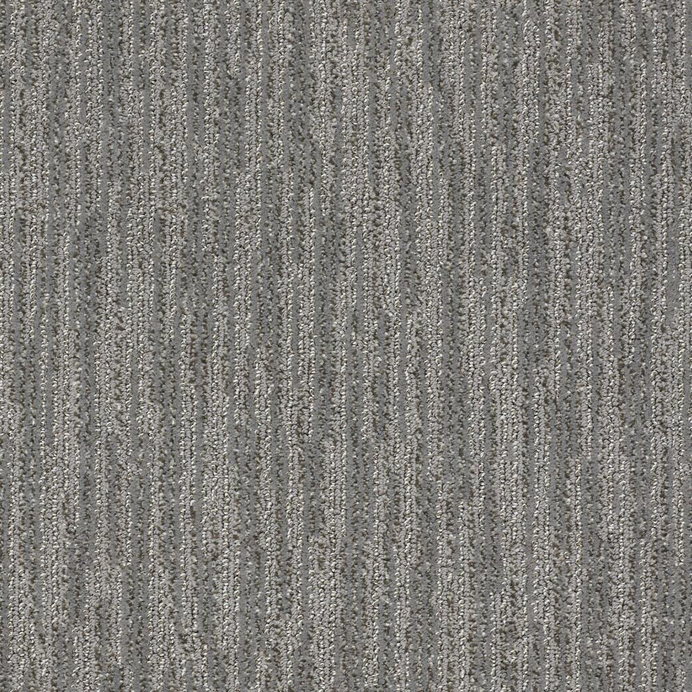 Carpet Sample - Clean Space - Color Grey Cloud Pattern 8 in. x 8 in.