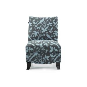 Donovan Bardot Teal Accent Chair by