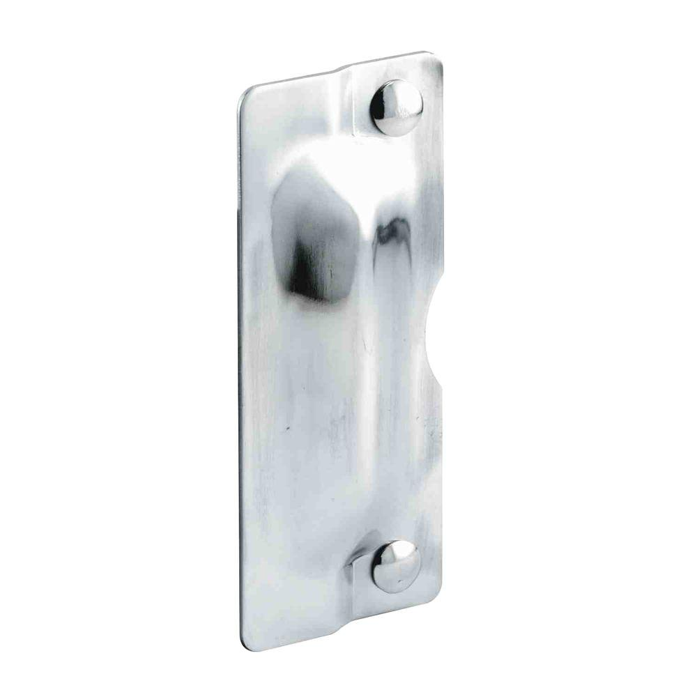 Prime Line Stainless Steel Latch Guard Plate U 9496 The Home Depot
