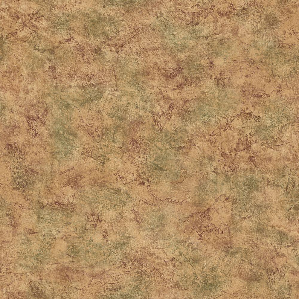 The Wallpaper Company 8 in. x 10 in. Brown Venetian Plaster Wallpaper Sample