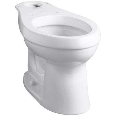 Cimarron Comfort Height Elongated Toilet Bowl Only in White