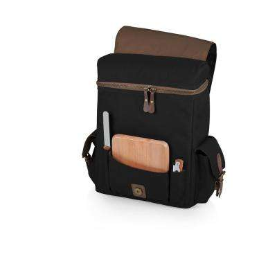 Moreno Black 3-Bottle Wine & Cheese Tote