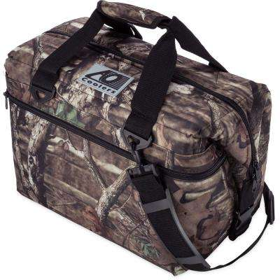 30 qt. Soft Canvas Cooler with Shoulder Strap and Wide Outside Pocket
