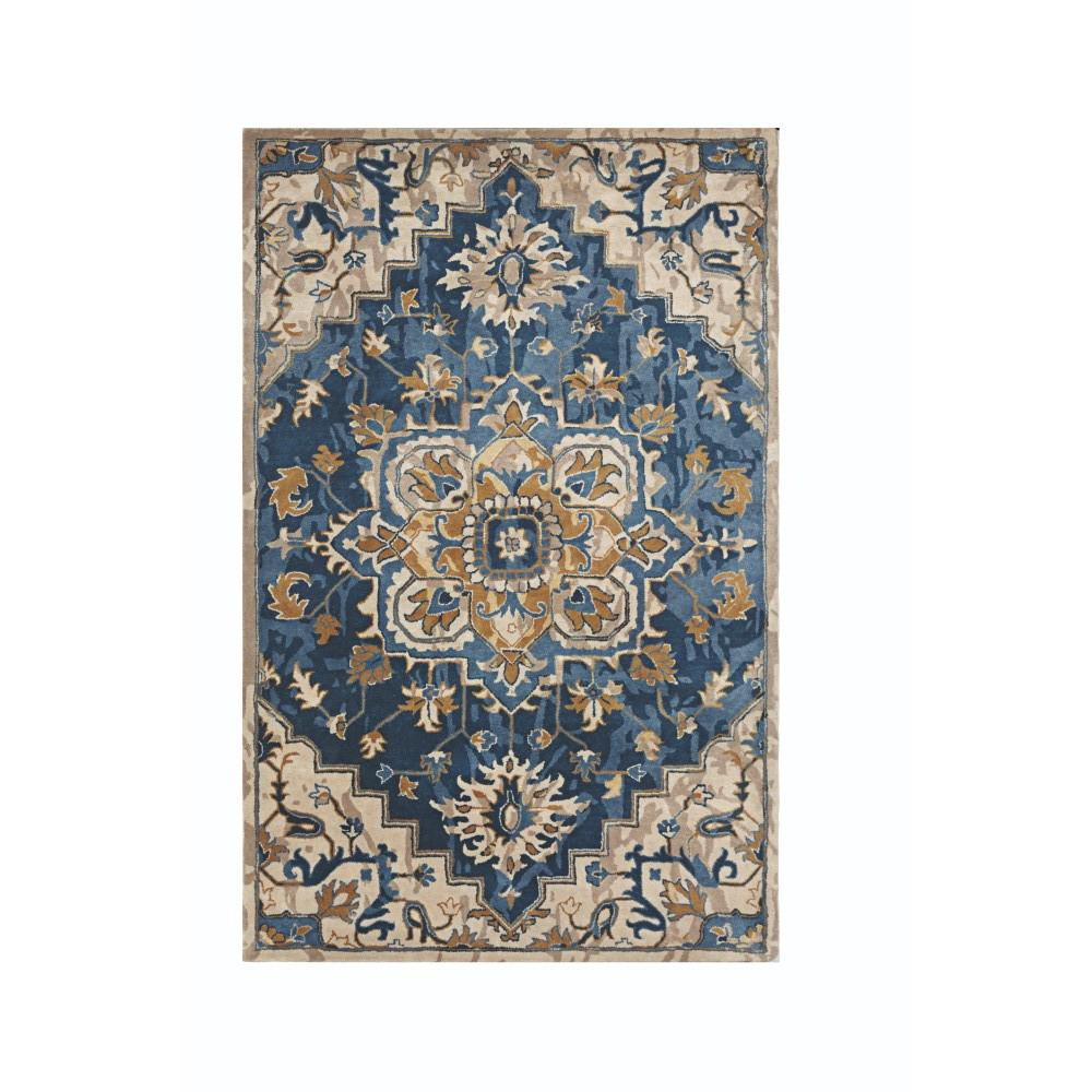 Home decorators collection bordeaux navy 2 ft 3 in x 10 for Home decorators rug runners