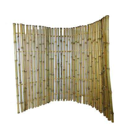 6 ft. H x 6 ft. L Bamboo Ornamental Fence