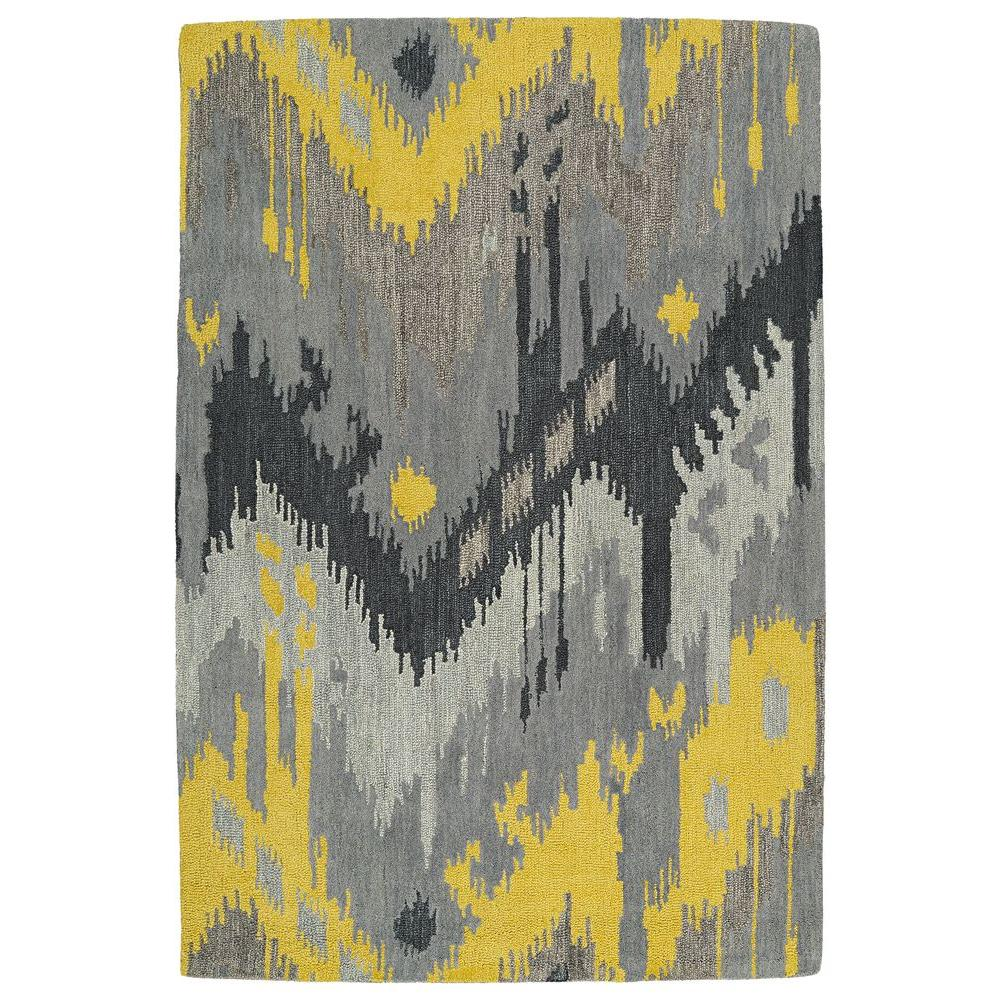 Casual Grey 7 ft. 6 in. x 9 ft. Area Rug