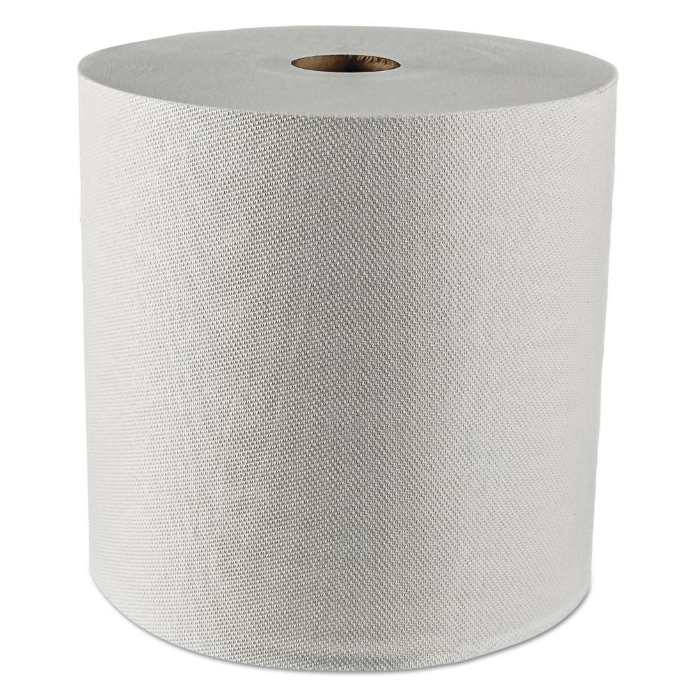 8 in. x 425 ft. 1.5 Core White Hard Roll Towels