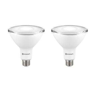 120-Watt Equivalent PAR38 Dimmable Energy Star Flood LED Light Bulb Daylight (2-Pack)