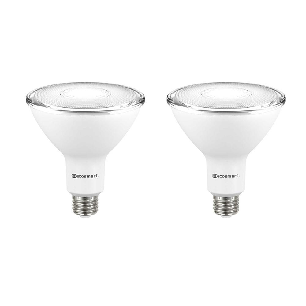 120-Watt Equivalent PAR38 Dimmable Energy Star Flood LED Light Bulb Daylight (2-Pack)