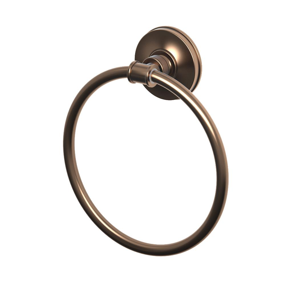 Montgomery Towel Ring in Bronze