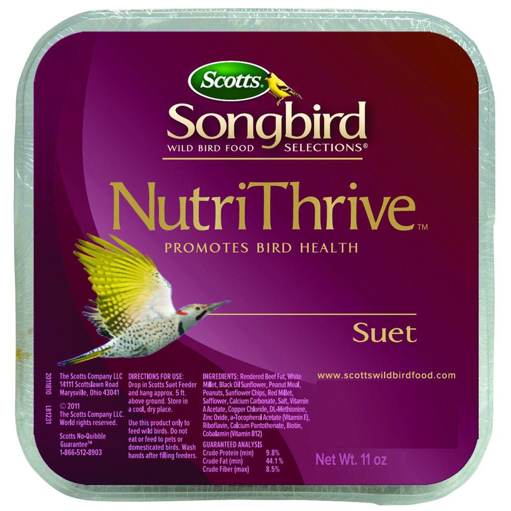 Scotts 11 oz. NutriThrive Suet-DISCONTINUED