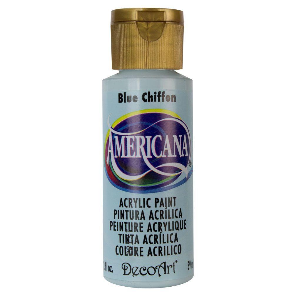 Americana 2 oz. Blue Chiffon Acrylic Paint