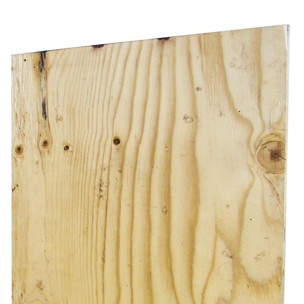 5 8 In X 4 Ft X 8 Ft Hi Bor Apa Rated Sheathing Pressure Treated Plywood 95359 The Home Depot