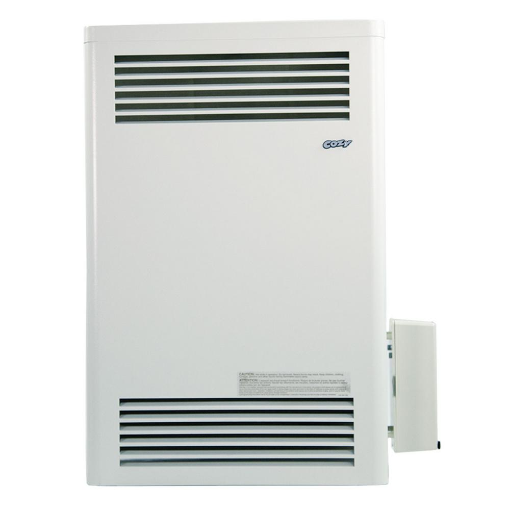 Cozy 15 000 Btu Vented Natural Gas Furnace With Pilot Pro Battery Ignition Pilot System Cdv155dppr C The Home Depot
