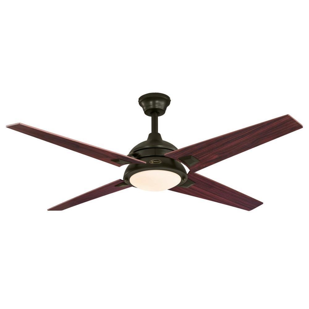 Desoto 52 in. LED Oil-Rubbed Bronze Ceiling Fan