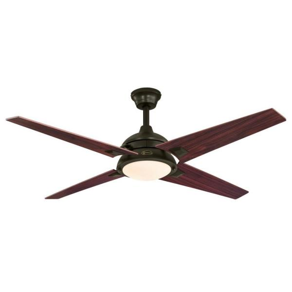 Desoto 52 in. LED Oil-Rubbed Bronze Ceiling Fan