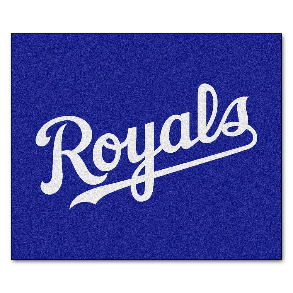 FANMATS Kansas City Royals 5 ft. x 6 ft. Tailgater Rug
