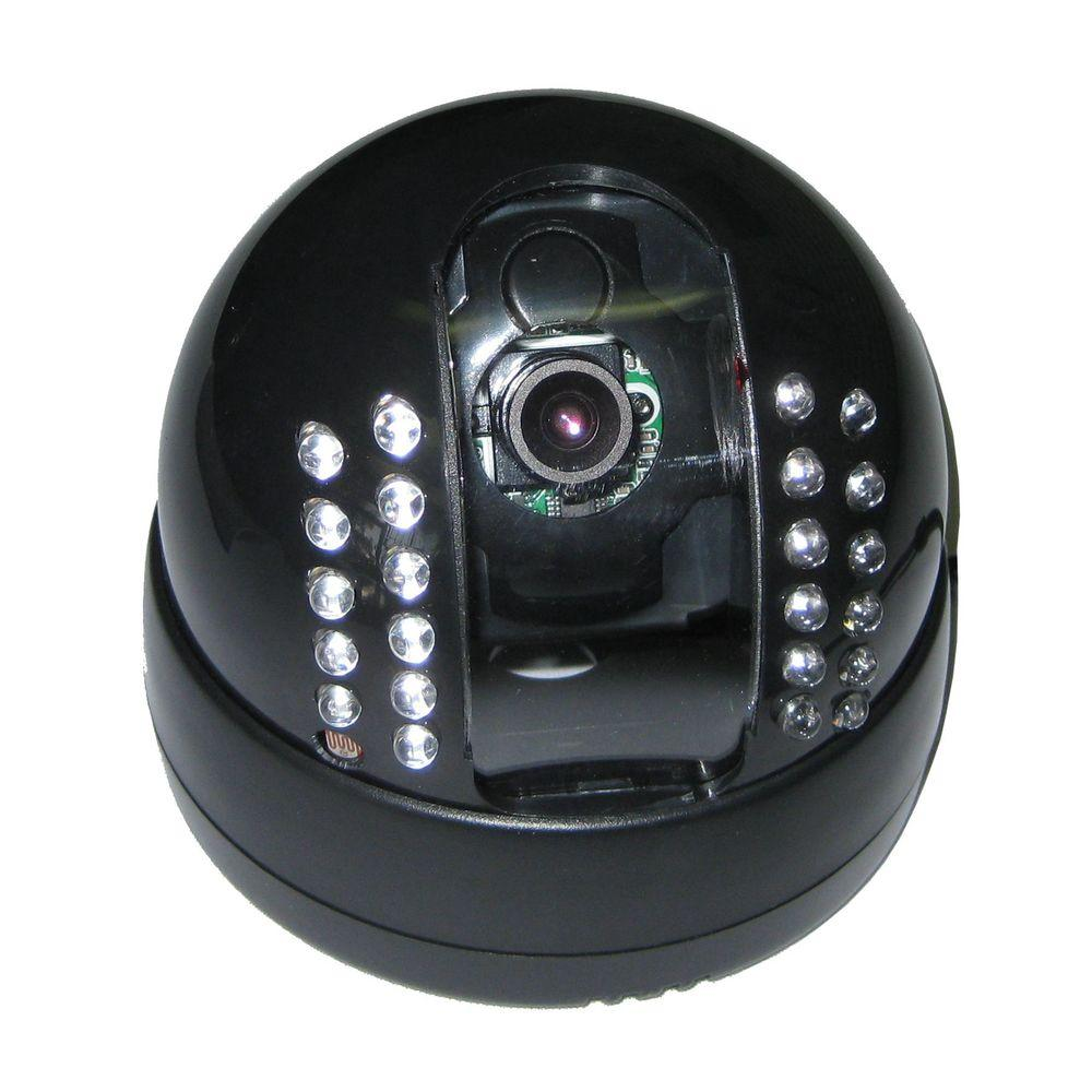 SeqCam Wired IR Dome Indoor/Outdoor Color Security Camera