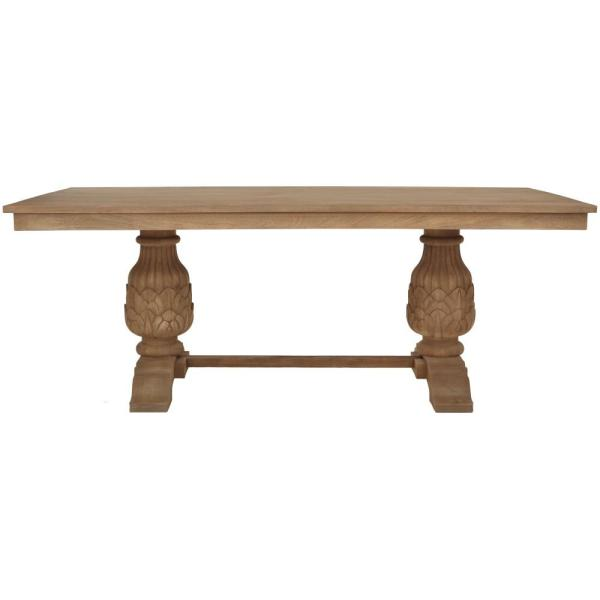 Home Decorators Collection Kingsley Sandblasted Antique Natural Dining Table