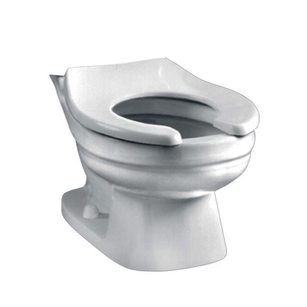 American Standard Baby Devoro Round Front Toilet Bowl Only In White