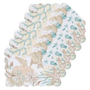 Key Biscayne Blue Placemat (Set of 6)