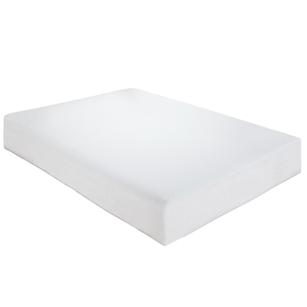 Classic Cal King Size 8 In Memory Foam Mattress 410172 1170 The Home Depot