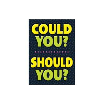 Could You Should You Poster
