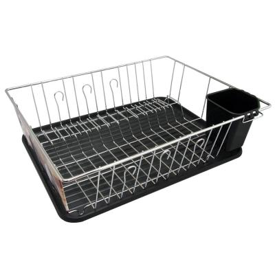 Black Countertop Dish Rack