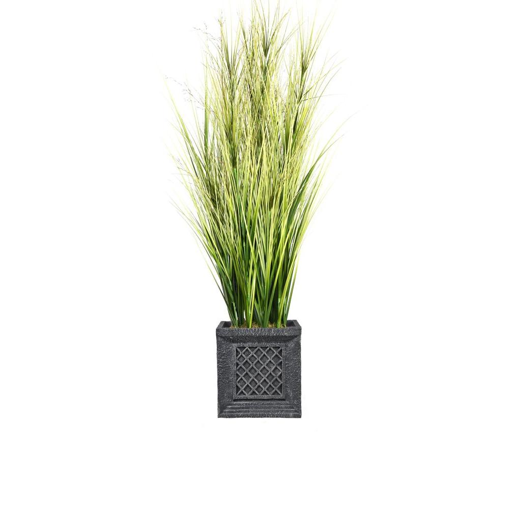 Laura Ashley 66 In Tall Onion Grass With Twigs In Planter Vhx114215