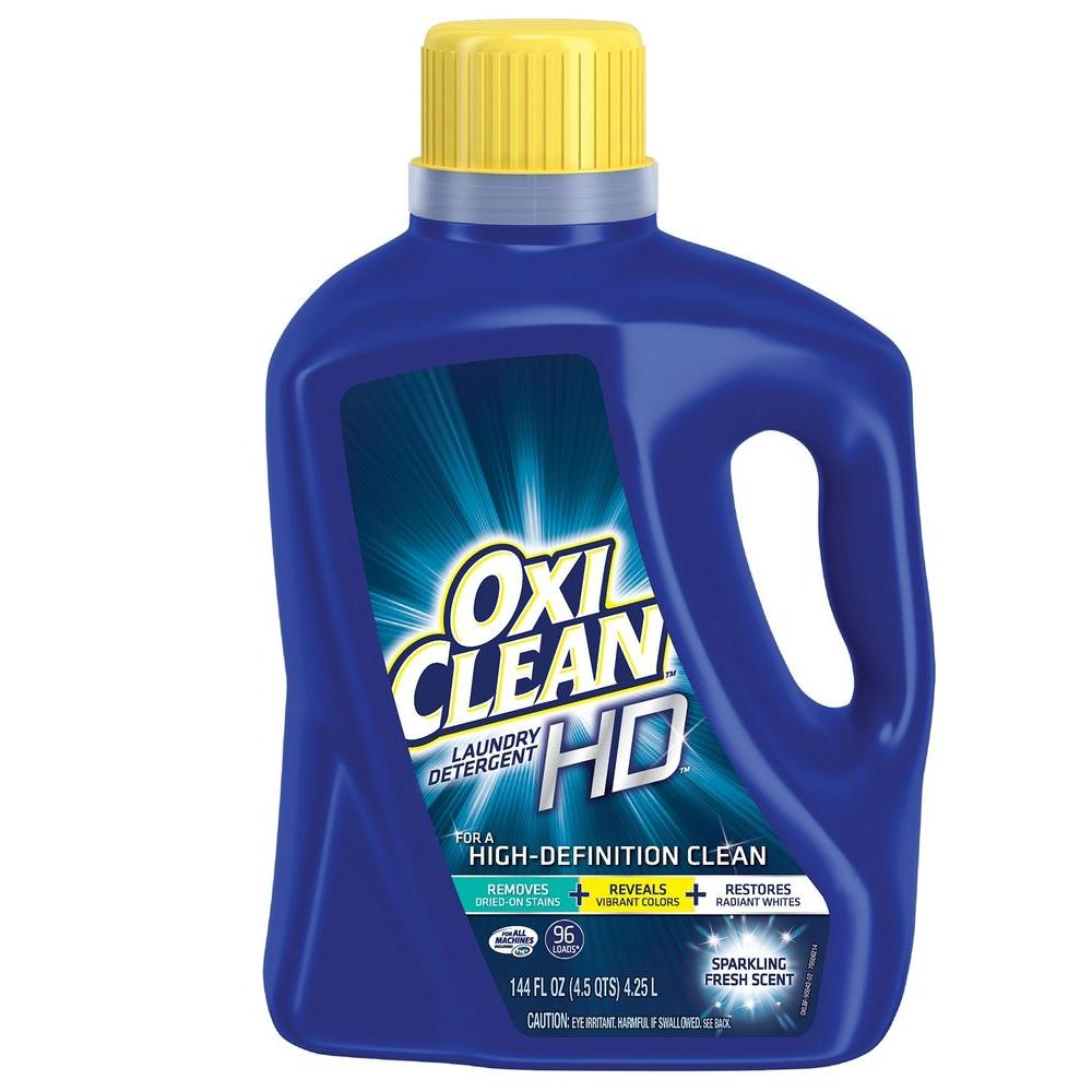 OxiClean. 144 oz. Fresh Scent Liquid Laundry Detergent
