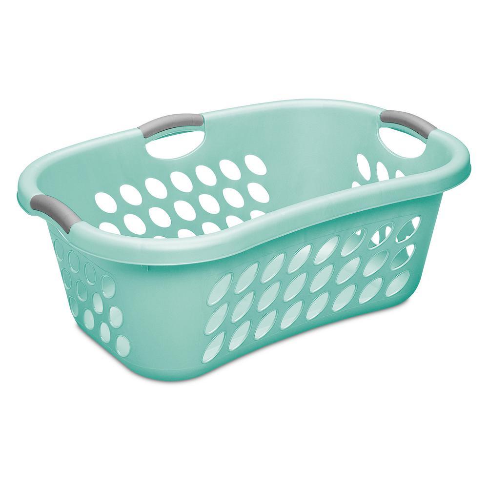 Sterilite 1.25 Bushel Ultra Hip-Hold Laundry Basket by Sterilite