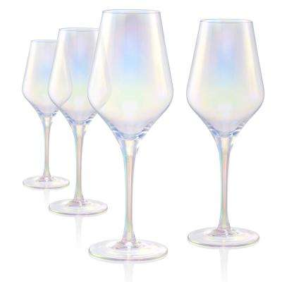 16 oz. Goblet Red Wine Glasses in Clear (Set of 4)