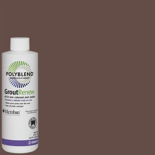 Polyblend #95 Sable Brown 8 fl. oz. Grout Renew Colorant