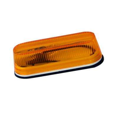 3-1/2 in. Amber Oblong Side/Clearance Marker