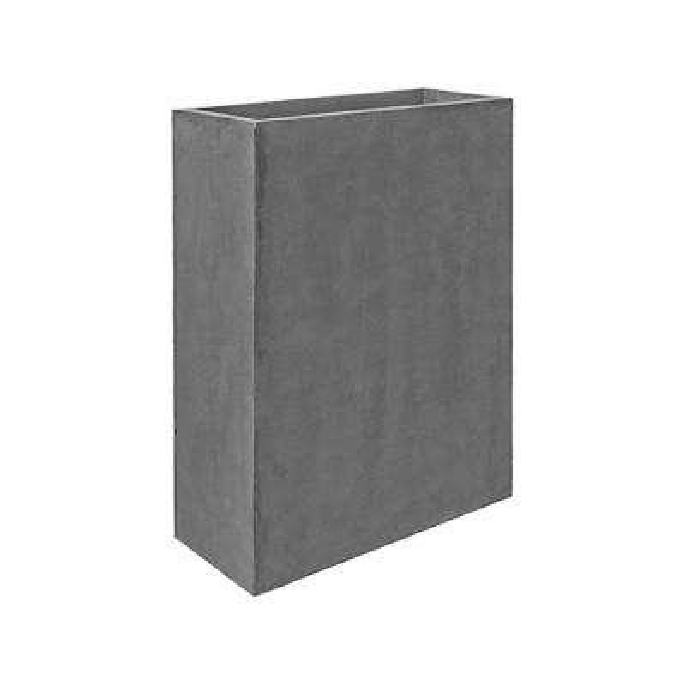 32 in. x 10 in. x 24 in. Cement Fiberstone Planter