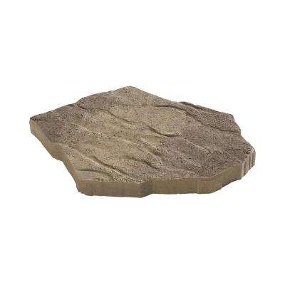 Portage 21 in. x 15.5 in. x 1.75 in. Tan/Charcoal Irregular Concrete Step Stone (90 Pieces / 134 sq. ft. / Pallet)
