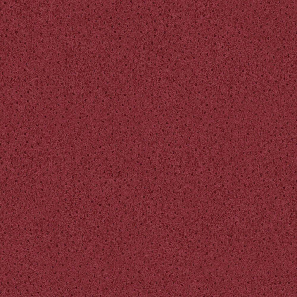 The Wallpaper Company 8 in. x 10 in. Claret Ostrich Leather Looking Wallpaper Sample