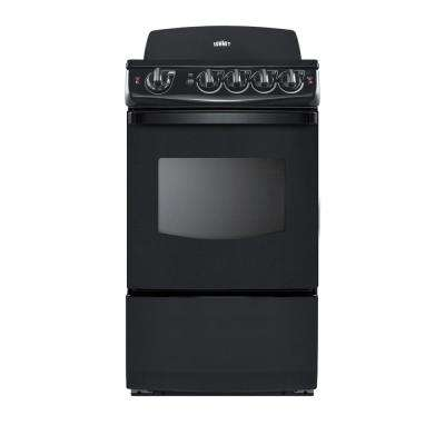 20 in. 2.4 cu. ft. Electric Range in Black