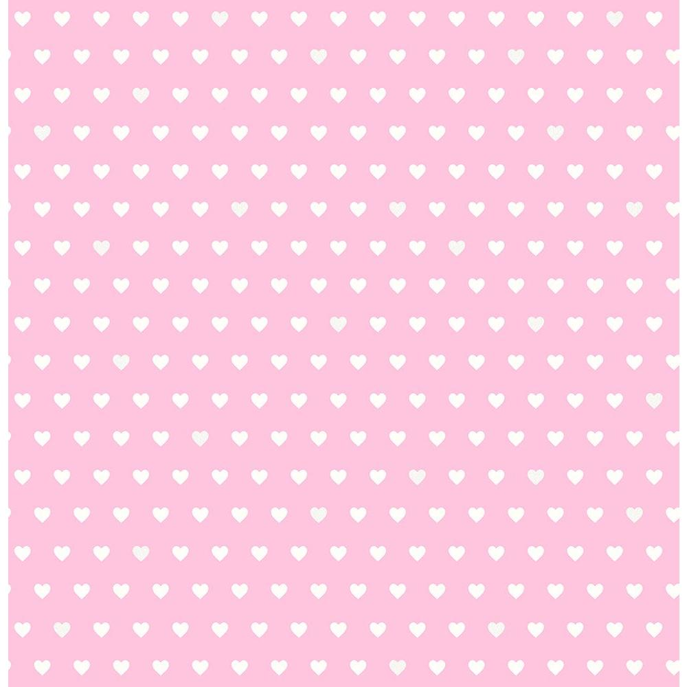 Brewster Pink Small Hearts Wallpaper Sample 2679 002156sam The Home Depot