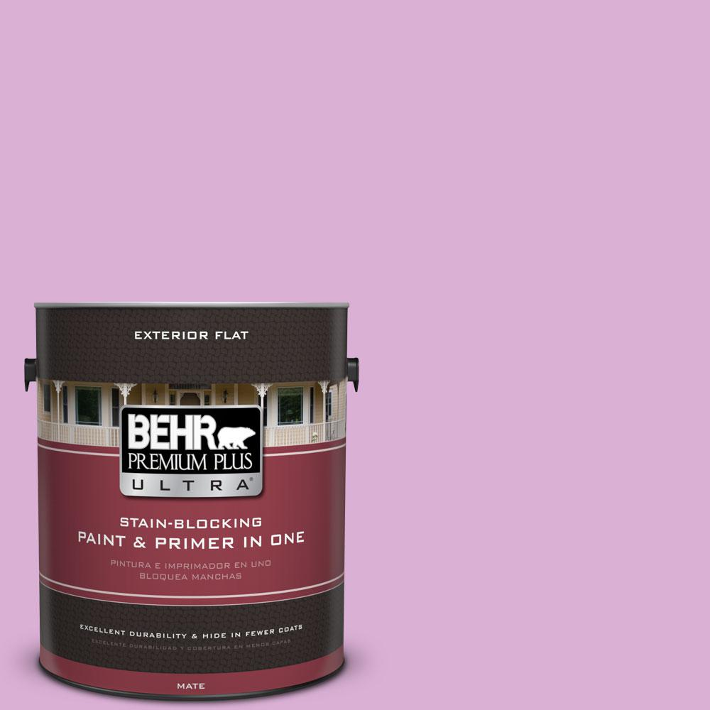 BEHR Premium Plus Ultra 1-gal. #P110-3 BFF Flat Exterior Paint