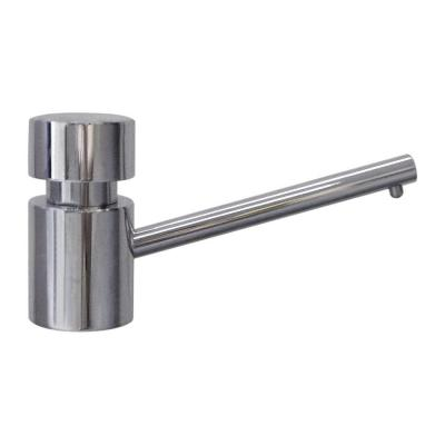 Whitehaus Collection 3 in. Solid Brass Utility Soap Dispenser in Chrome, Polished Chrome